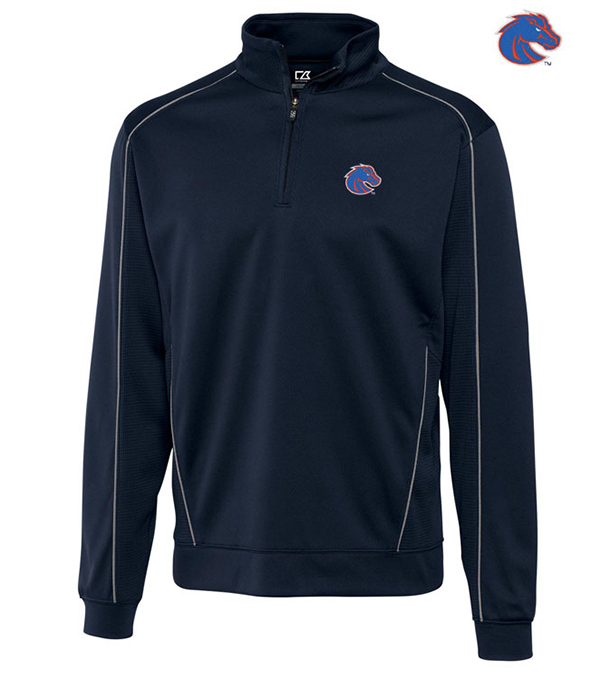 Cutter & Buck Boise State University Edge Half-Zip Pullover