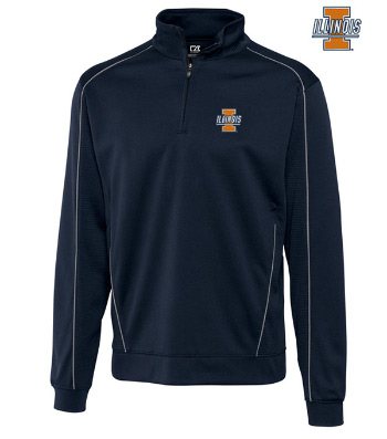 University of Illinois Edge Half-Zip Pullover