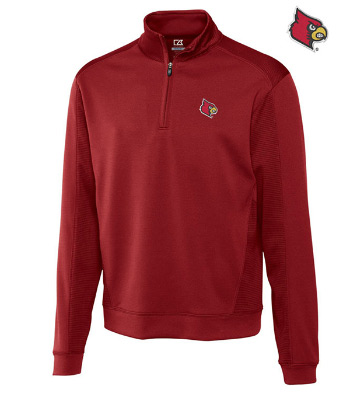 University of Louisville Edge Half-Zip Pullover