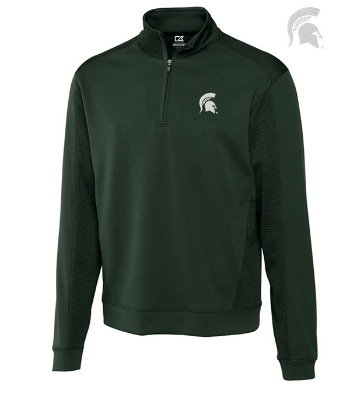 Michigan State University Edge Half-Zip Pullover