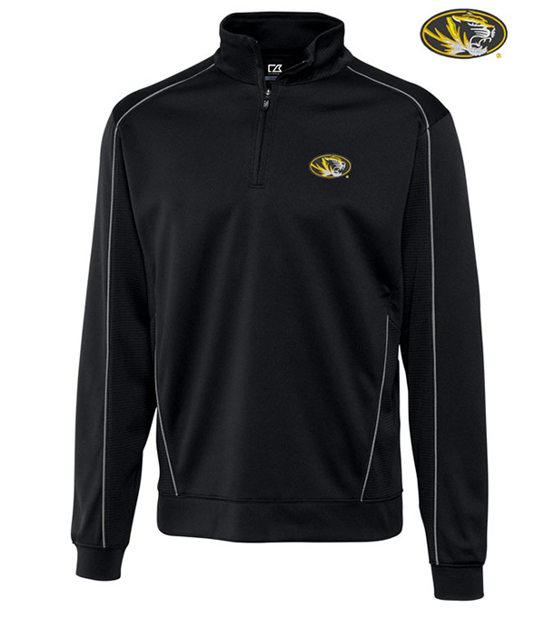 Cutter & Buck University of Missouri Edge Half-Zip Pullover