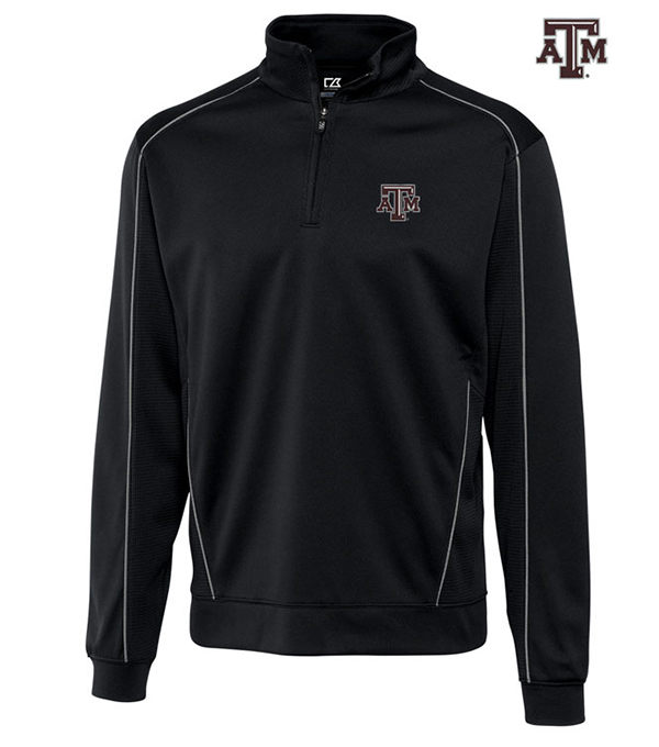 Cutter & Buck Texas A&M University Edge Half-Zip Pullover