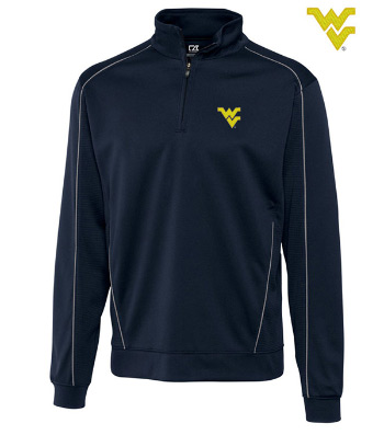 West Virginia University Edge Half-Zip Pullover