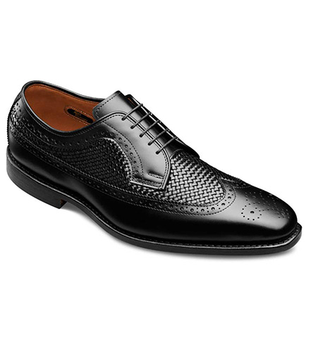 allen edmonds boca raton leather shoe