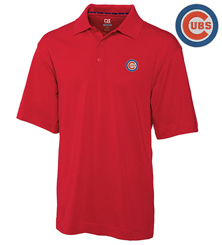 Cutter & Buck Chicago Cubs Championship Polo