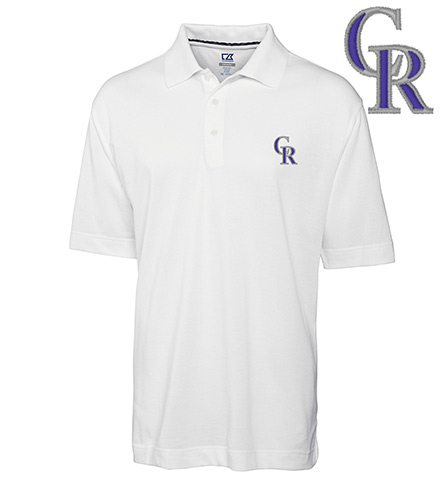 Cutter & Buck Colorado Rockies Championship Polo