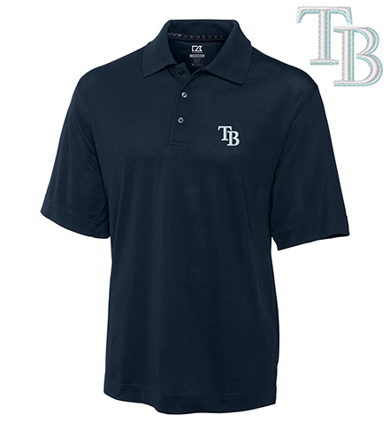 Cutter & Buck Tampa Bay Rays Championship Polo