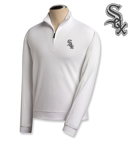 Cutter & Buck Chicago White Sox Half-Zip Pullover
