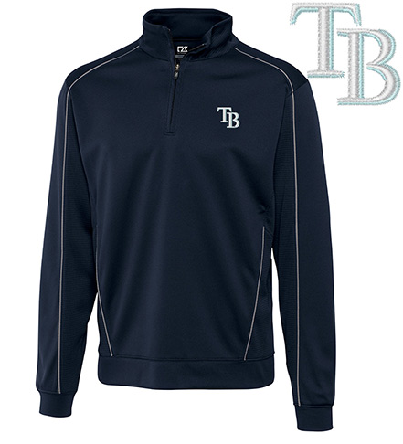 Cutter & Buck Tampa Bay Rays Half-Zip Pullover