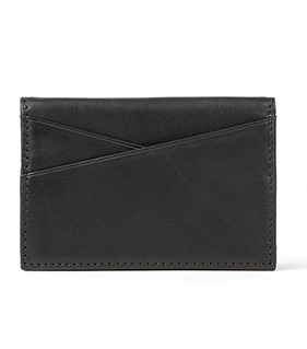 Gusseted Card Case with ID