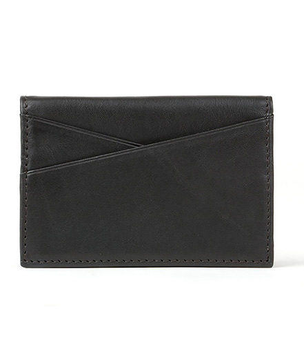 Bosca Gusseted Card Case with ID